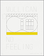 matt mullican subjects print litho portfolio no feeling