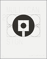 matt mullican subjects print litho portfolio sign